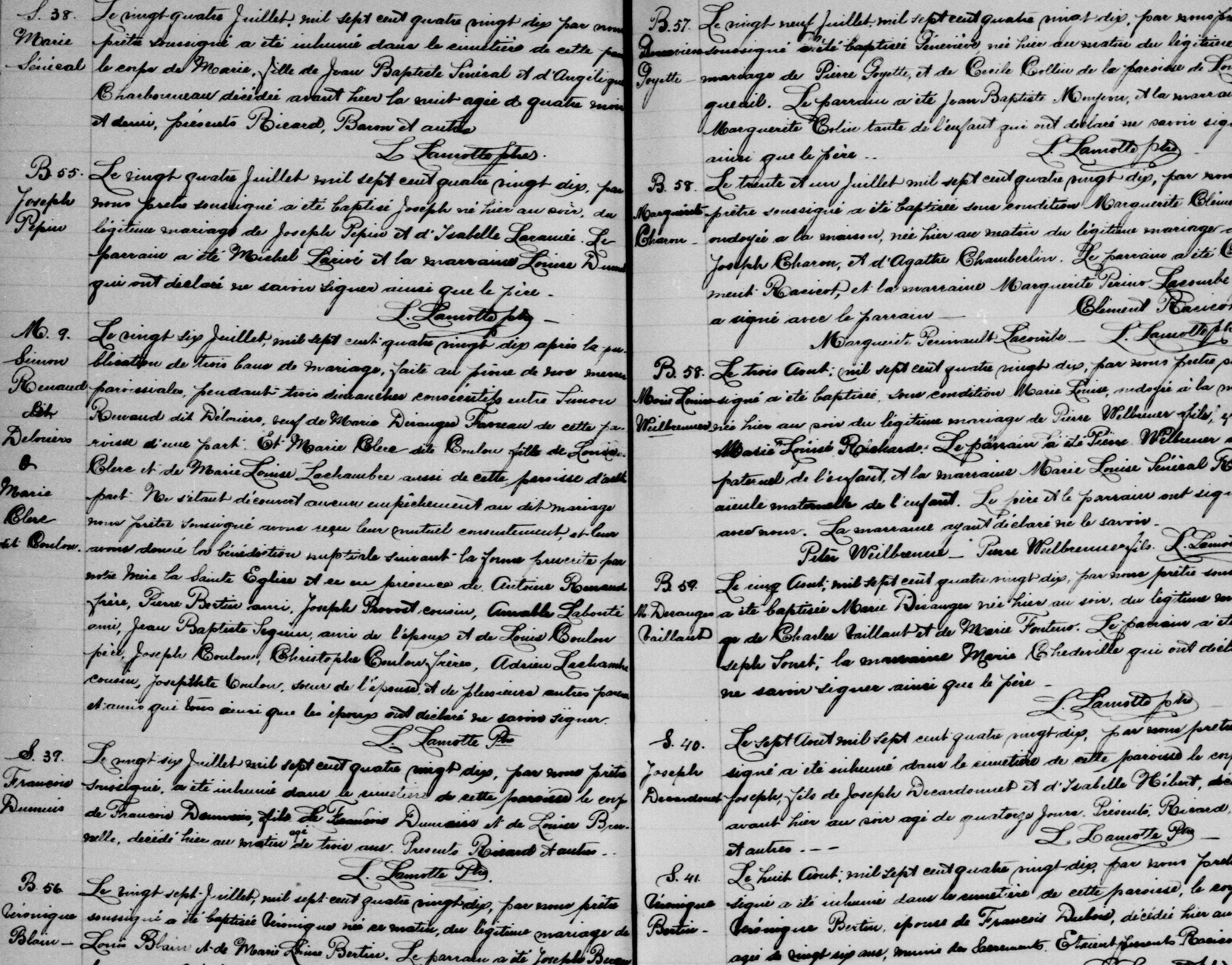 Généalogie et histoire du Québec